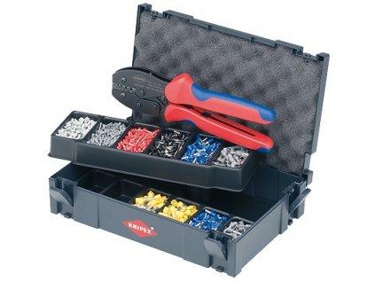 Knipex Souprava kabelových koncovek s kleštěmi pro dutinky