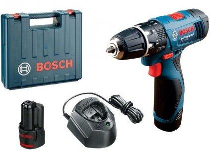 Bosch GSB 120-LI akumulátorový kombinovaný šroubovák, kufr  Rozšíření záruky na 3 roky zdarma.