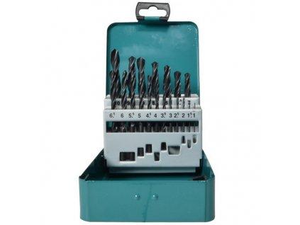 Makita D-54081 19-dílná sada vrtáků do kovu HSS-R