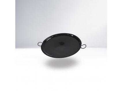 THORMA Smaltovaná grilovací deska černá