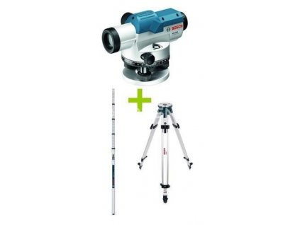 Optický nivelační přístroj Bosch GOL 26 G + BT160 + GR500