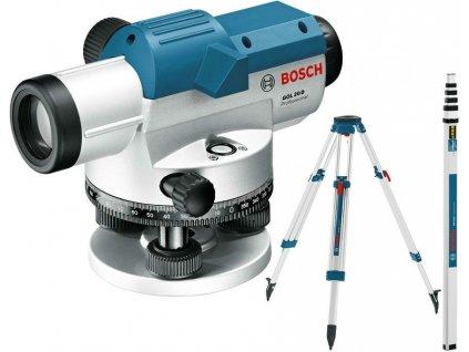 BOSCH Optický nivelační přístroj GOL 20 D + BT160 + GR500  SERVIS EXCLUSIVE