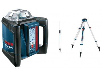 BOSCH GRL 500 HV Professional Rotační laser, LR 50, BT 170 HD, GR 240  Rozšíření záruky na 3 roky zdarma.