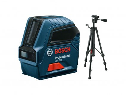 BOSCH GLL 2-10 Liniový laser + BOSCH BT 150 Stativ