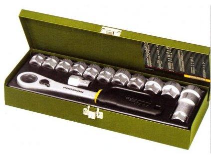 PROXXON Gola sada 14 dílná s průchozí ráčnou 13 - 27mm.(23604)  SERVIS EXCLUSIVE