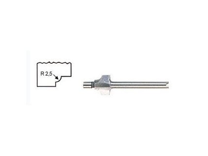 PROXXON Fréza na drážkování rámečků s násadkou o průměru 5,0 mm.(29040)  SERVIS EXCLUSIVE