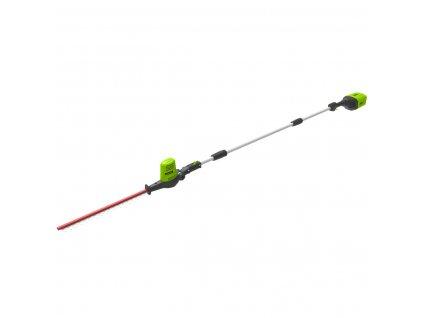 Greenworks G60PHT aku 60 V aku plotostrih 51 cm s dlhým dosahom