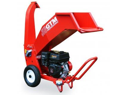 GTM GTS 900G drtič dřeva s benzinovým motorem