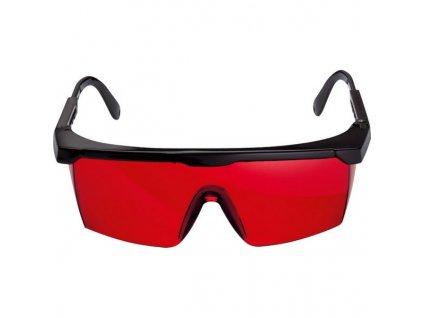 BOSCH Brýle červené na zviditelnění paprsku  + VOUCHER - slevový kupón