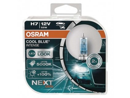 Autožiarovka OSRAM H7 55W 12V 64210 CBN COOL BLUE