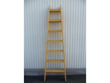 ALVE 2804 Dřevěný žebřík dvoudílný / štafle /  SERVIS EXCLUSIVE