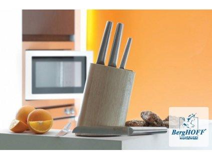 BergHOFF Nože HOLLOW ECLIPSE 5ks + stojan