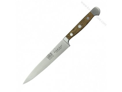 Filetovací nůž Alpha Dubový sud Güde Solingen 16 cm - pevný
