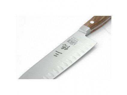 Japonský nůž Santoku Alpha Oliva Güde Solingen 18 cm  + VOUCHER - slevový kupón