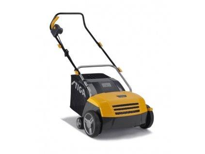 STIGA SV 213 E Elektrický prořezávač trávníku a odmechovač  SERVIS EXCLUSIVE