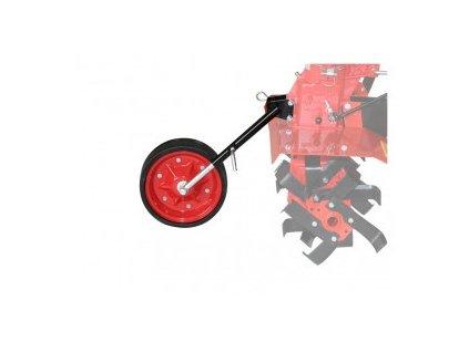 Přestavba malotraktoru na rotavátor- vodicí kolečko