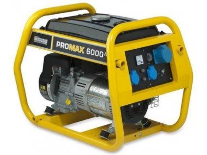 PRO MAX 6000 A jednofázová elektrocentrála 220 V