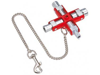 Knipex Univerzální klíč Pro běžné skříně a systémy zavírání 90
