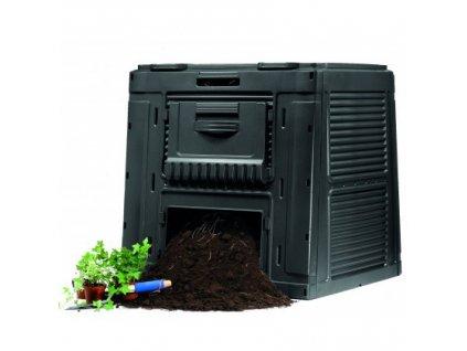 E-kompostér s podstavcem 450 L - antracit