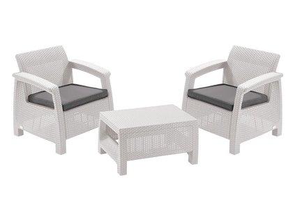 CORFU WEEKEND set nábytku white - coolgrey