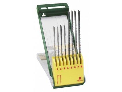 "Set 8 ks pilových listů Bosch na dřevo / kov / plasty, ""U"" stopka"