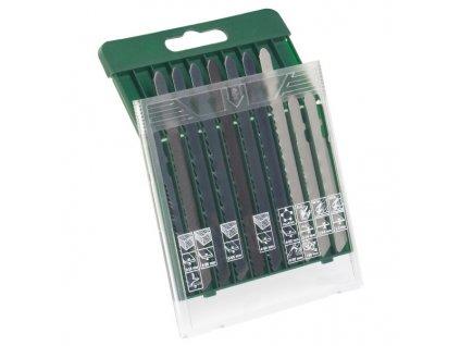 """Set 10 ks pilových listů Bosch na dřevo / kov / plasty, """"T"""" stopka"""