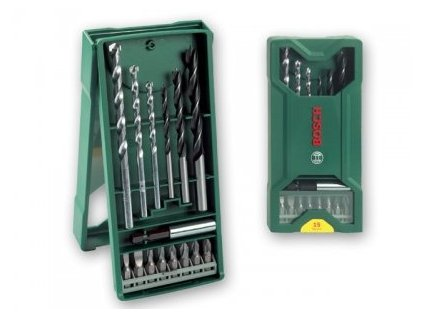 Bosch 15-dílný Mini-X-Line-Set bitů a vrtáků