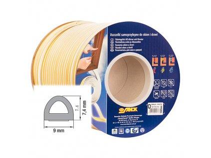Těsnění Stomil SD-1CX / 6-0 • D, 9x7.4 mm, 6 m, bílé