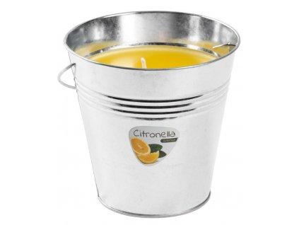 Svíčka Citronella Bucket 510 g, kbelík