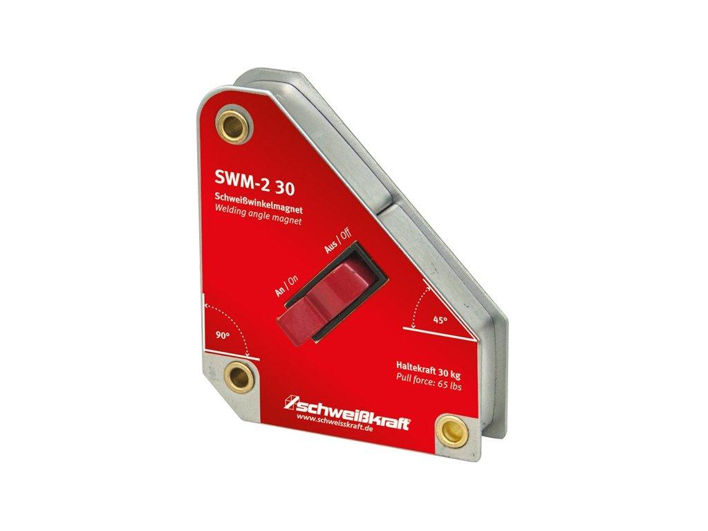 Vypínatelný svařovací úhlový magnet SWM-2 30  + VOUCHER - zľavový kupón