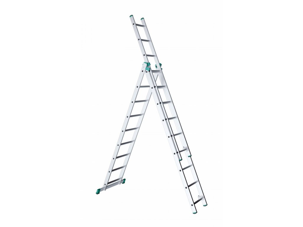 ALVE EUROSTYL 7609 Rebrík trojdielny univerzálny  SERVIS EXCLUSIVE