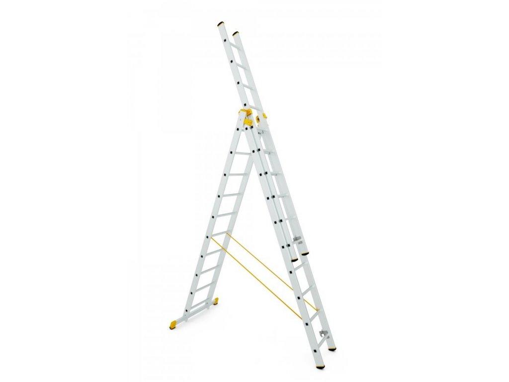 ALVE FORTE 8612 Rebrík trojdielny univerzálny  SERVIS EXCLUSIVE