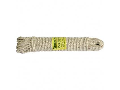 Snura Cloth-Line 20 m/4 mm, Bavlna, biela