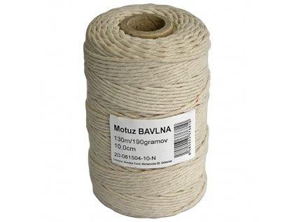 Motuz Cotton 04 130 m/190 g, TubePack