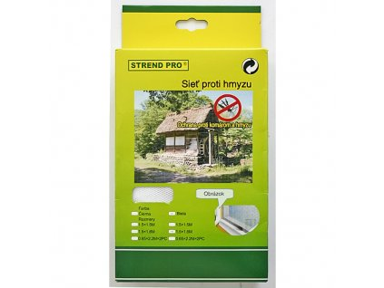Siet FlyScreen3 150x130 cm, proti hmyzu, hnedá PE