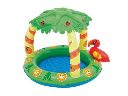 Bazen Bestway® 52179, 99x91x71 cm, Friendly Jungle Play Pool, nafukovací