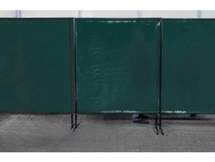 TransEco ochranná zástěna 2050 V, tmavě zelená 2050 × 1870 mm