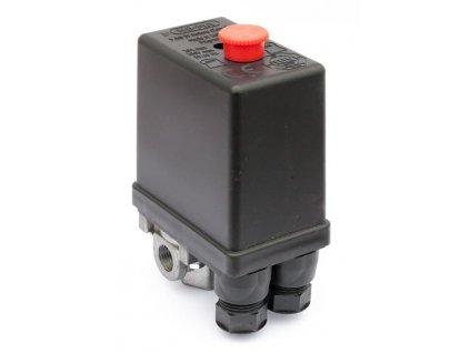 """Tlakový spínač NEMA 230 V / 12 bar (4x1/4"""")"""