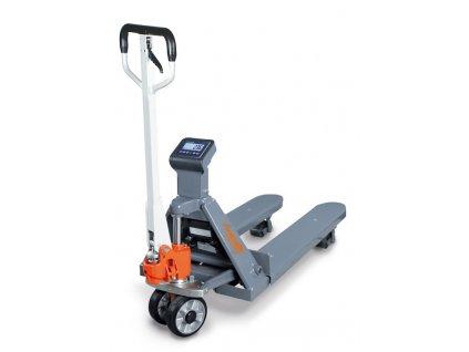 Paletový vozík s váhou PHW 2000 W