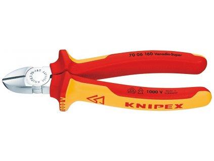 KNIPEX Bočné cvikacie kliešte 160  SERVIS EXCLUSIVE