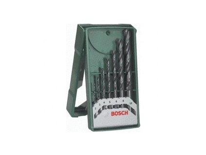 Bosch 7-dielny Mini-X-Line-Set vrtákov do kovu