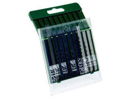 """Set 10 ks pílových listov Bosch na drevo/kov/plasty, """"U"""" stopka"""
