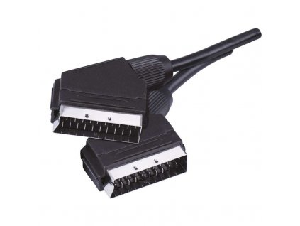 Kábel SCART-SCART 2m 21PIN  + VOUCHER - zľavový kupón