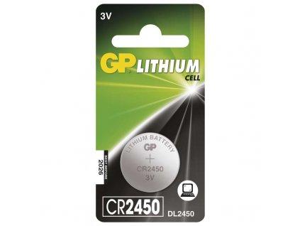 Batéria GP líthiová gombíková CR2450