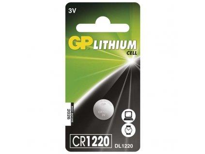 Batéria GP líthiová gombíková CR1220