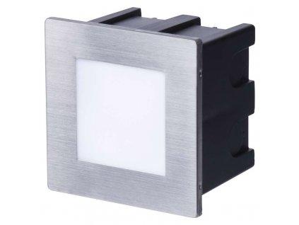 LED orientačné svietidlo, štvorec 1,5 W neutrálna biela IP65
