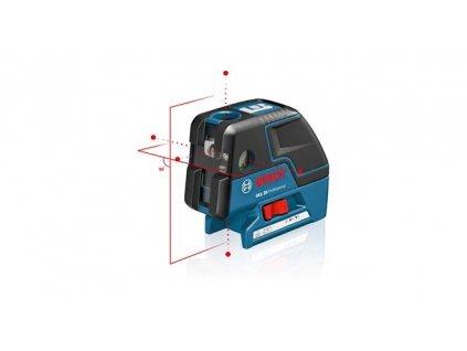 Bodový a čiarový laser Bosch GCL 25, kartón  SERVIS EXCLUSIVE | Rozšírenie záruky na 3 roky zadarmo