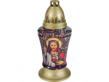 Kahanec bolsius Jesus 3D, 37 cm, 36 h