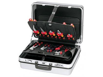 KNIPEX Kufor na náradie pre E-CHECK 23-dielny  SERVIS EXCLUSIVE + VOUCHER - zľavový kupón
