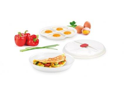 Miska na omelety a volské oká PURITY MicroWave